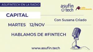 Patricia Suárez en Intereconomía Radio - Capital - 12.11.19