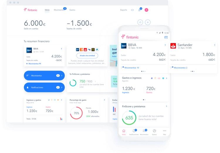 Cinco Días - Fintonic ultima el lanzamiento de un servicio de tarjeta y cuenta bancaria propia